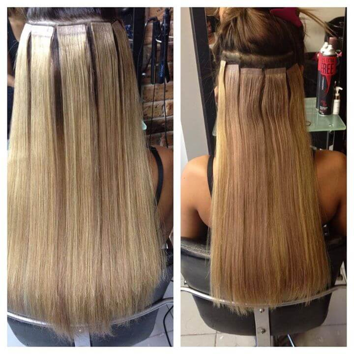 Deluxe hair extensions