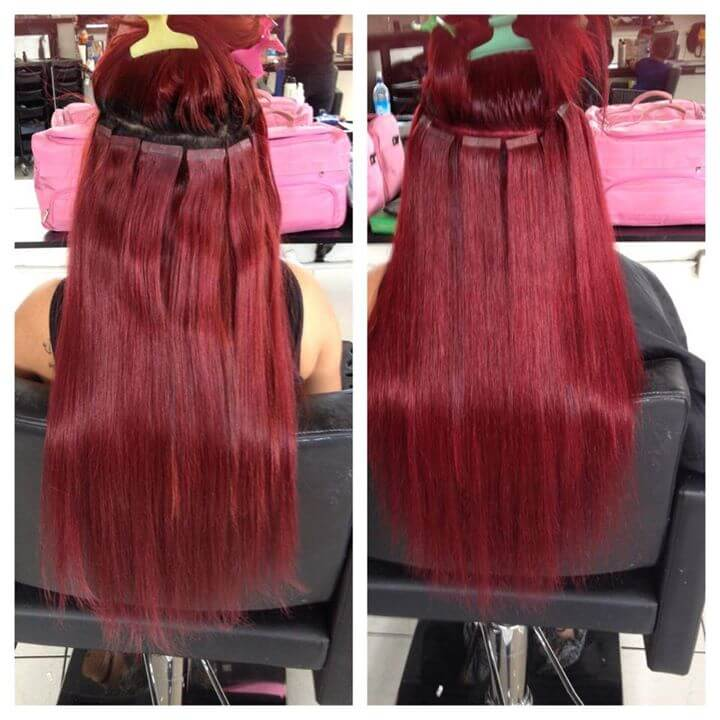 hair extensions 99J