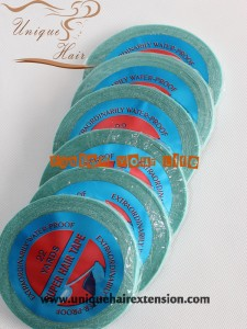 Blue Tape For Tape In Hair Extensions