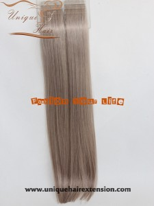 Brazilian Hair Extensions Tape in Hair