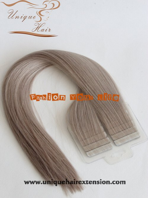 Brazilian virgin tape hair extension