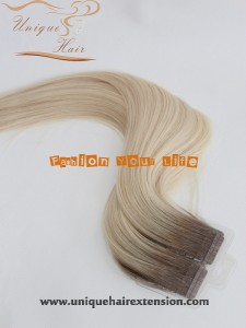 Double Drawn European Tape Remy Hair