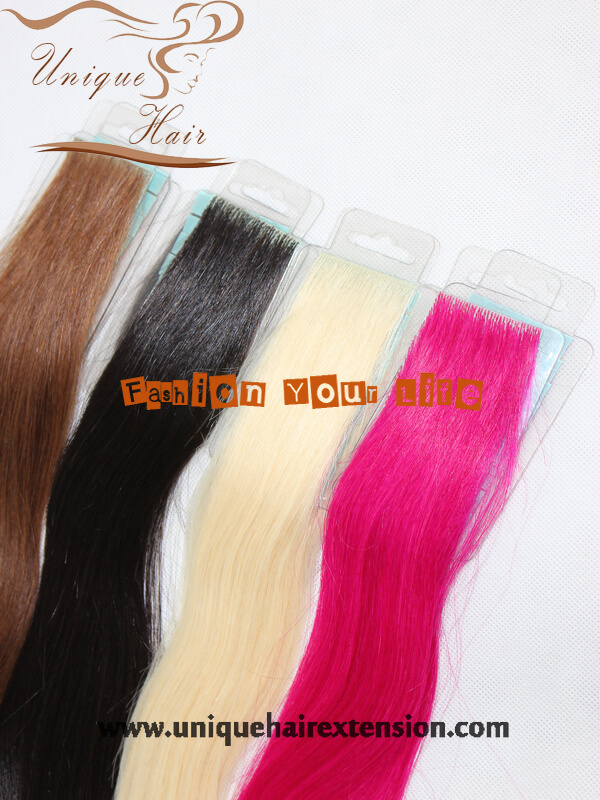 Invisible Tape Weft Extensions