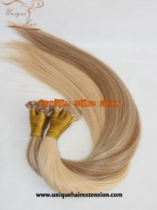 Hand Tied Weft Hair Extensions Factory