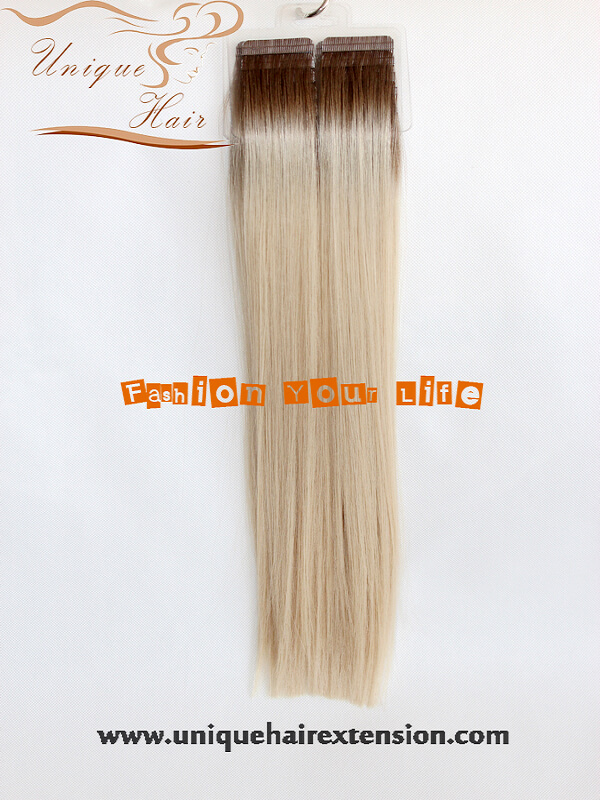Ombre tape in hair extensions archives qingdao unique hair ombre european remy tape hair extensions pmusecretfo Image collections