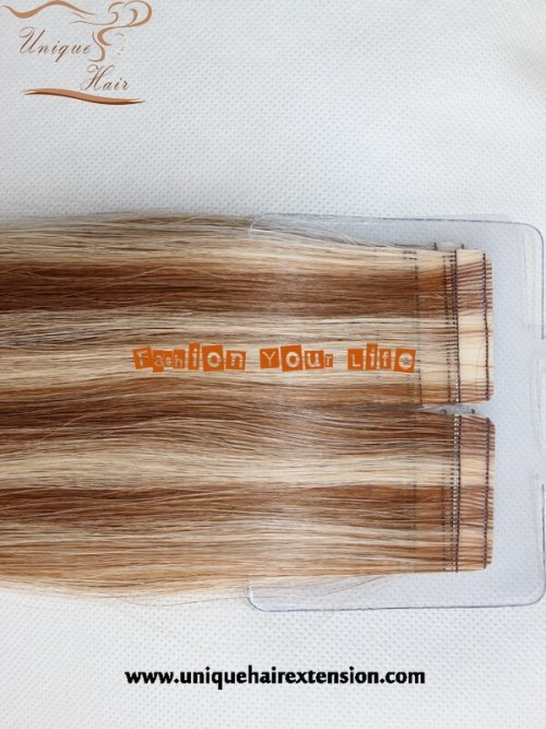 PU skin weft tape hair extensions