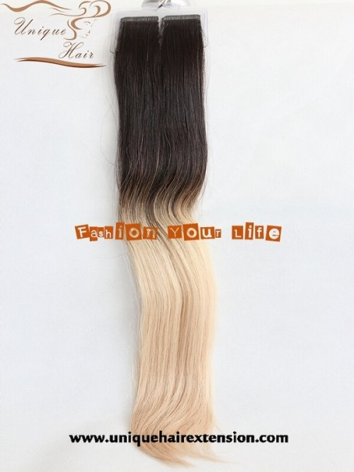 balayage tape in hair extensions