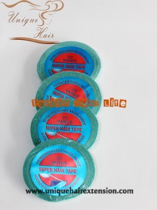 blue tape waterproof tape hair extensions