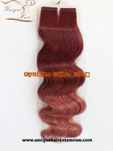 body wave balayage russian hair extensions