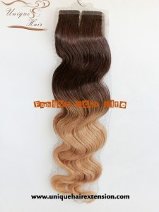 body wave ombre russian tape hair extensions