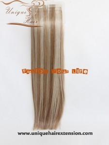 double drawn Russian hair extensions