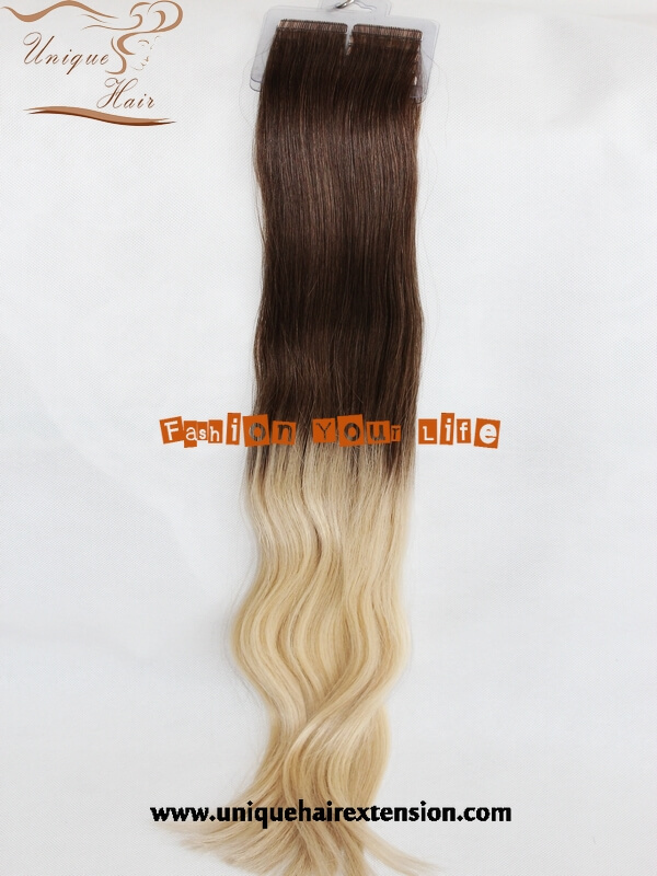 double drawn tape hair extensions