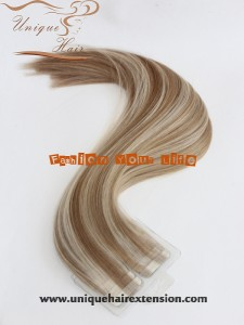 glam seamless tape in hair extensions