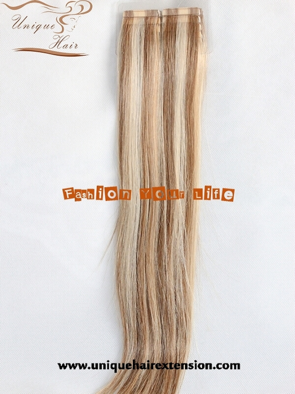 piano color tape hair extensions