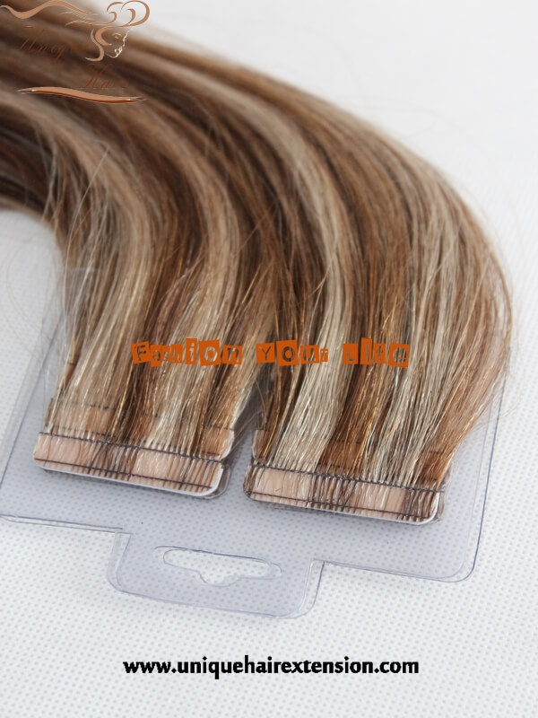 Stock Tape In Hair Extensions Ready To Ship Qingdao Unique Hair