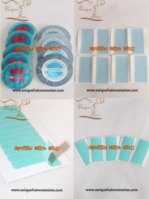 Replacement tape for tape hair extensions