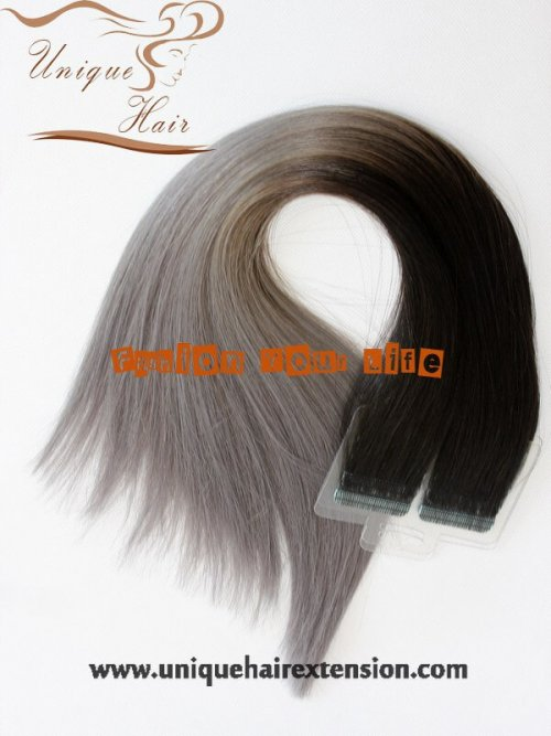 Balayage seamless hair extensions