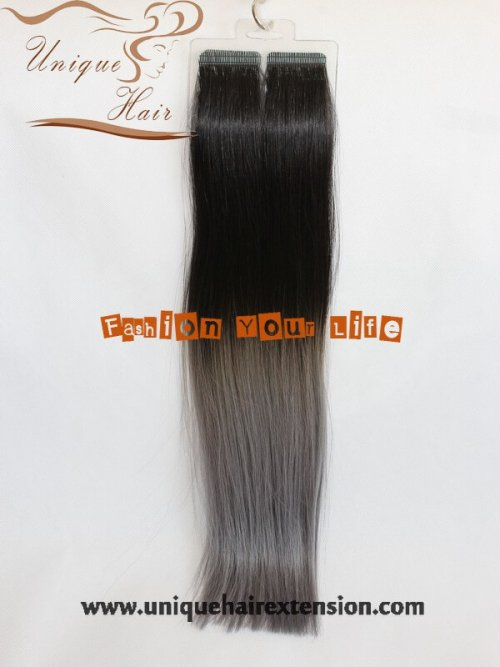 Ombre Seamless Hair Extensions