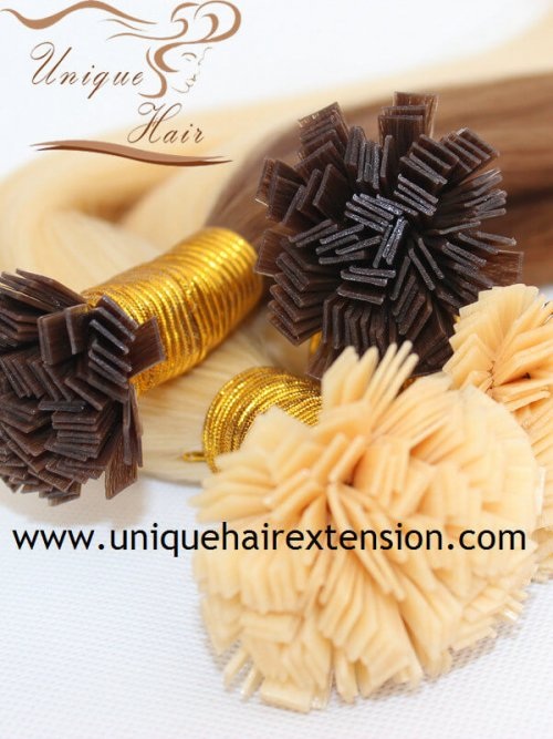 European Hair Extensions Flat tip