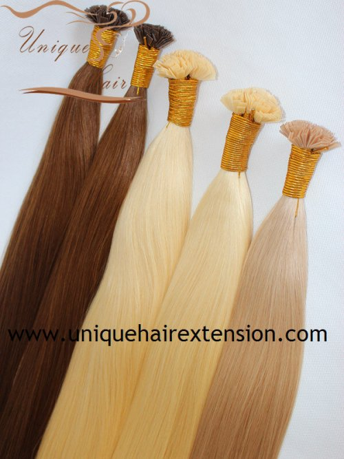 The Best quality double drawn keratin hair ext ensions