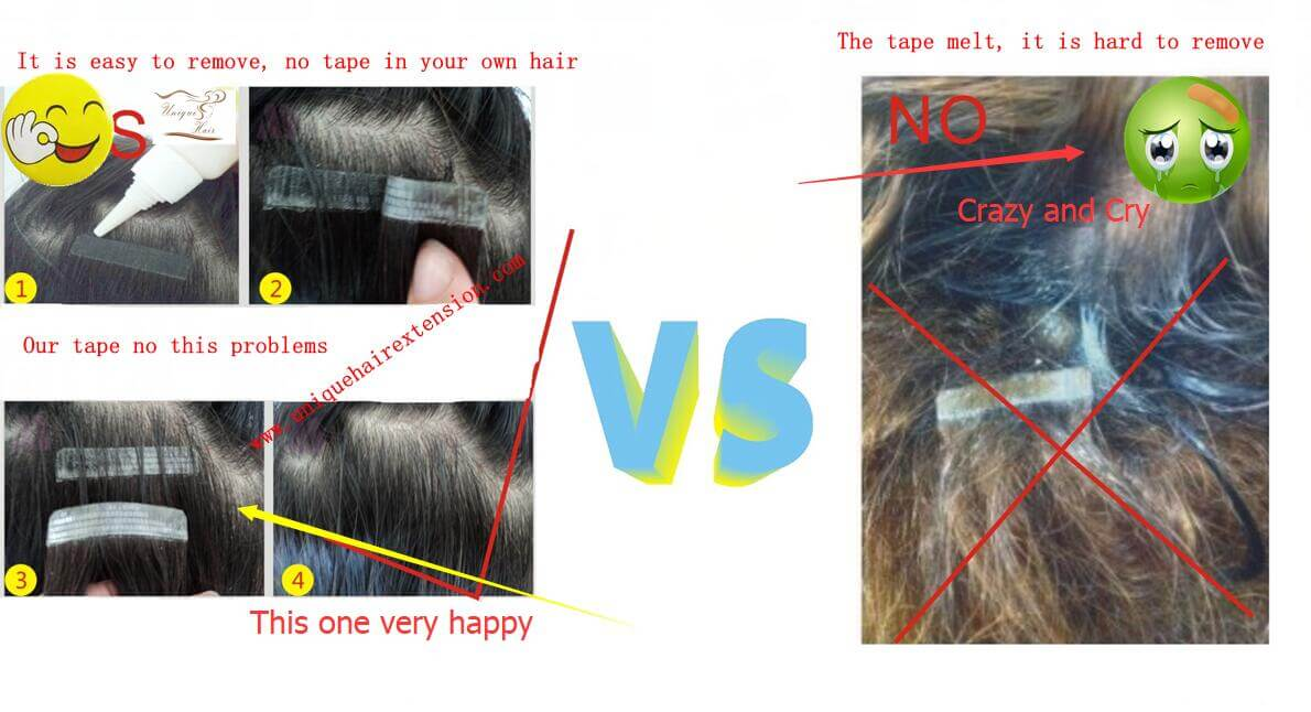 How To Choose Hair Replacement Tape For Tape In Extensions