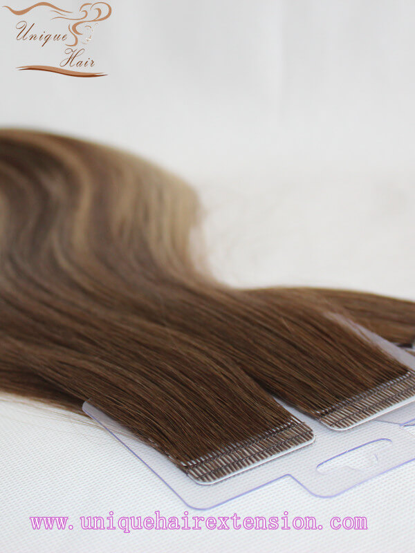 ombre tape in hair extensions