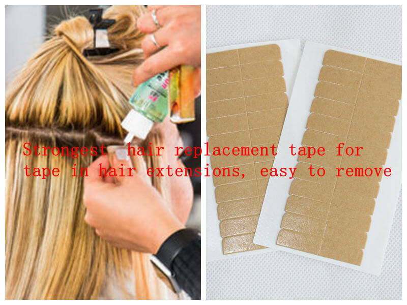 strongest hair replacement tape and easy to remove