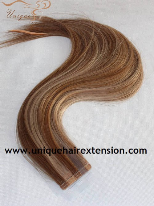 Russian virgin tape extensions