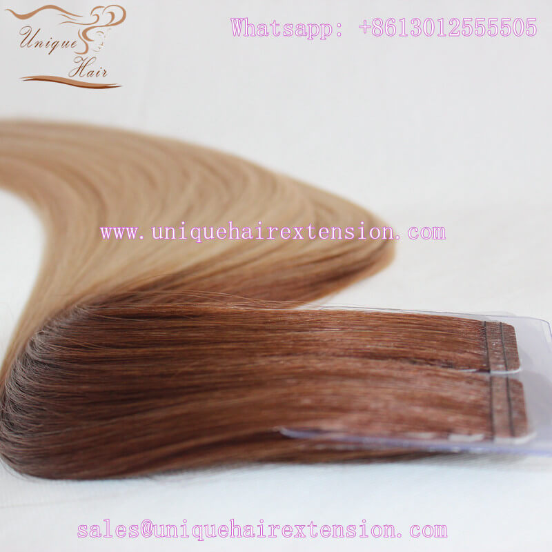 best quality long lasting tape hair extensions factory