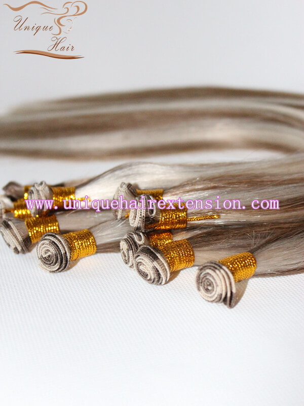 Piano color hand tied wefts extensions