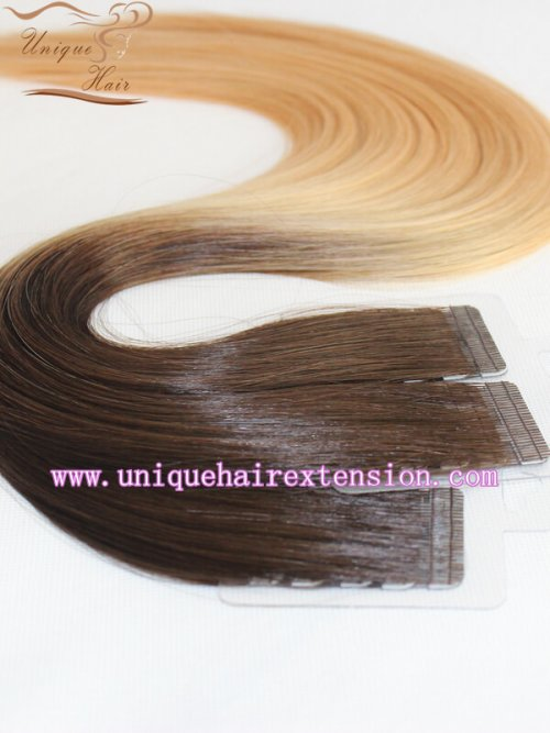 balayage tape hair extensions