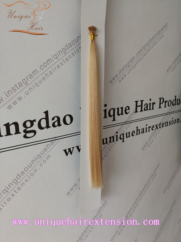 double drawn keratin hair extensions