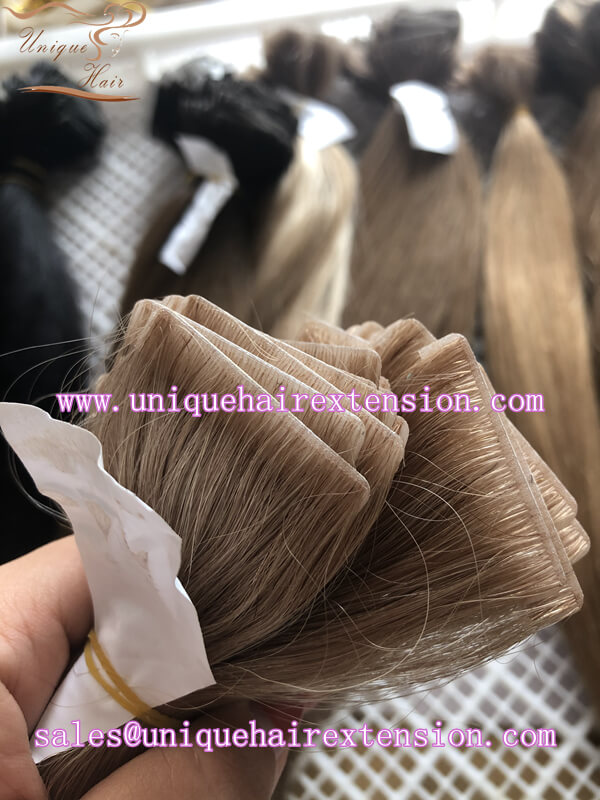 Invisible tape hair extensions factory