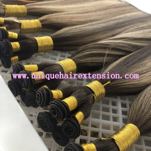 Ombre Hand Tied Wefts Hair